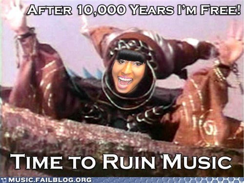 nicki minaj power rangers television TV - 6202400256