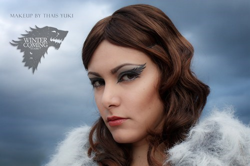 cosplay,Fan Art,Game of Thrones,makeup,yuki lefay