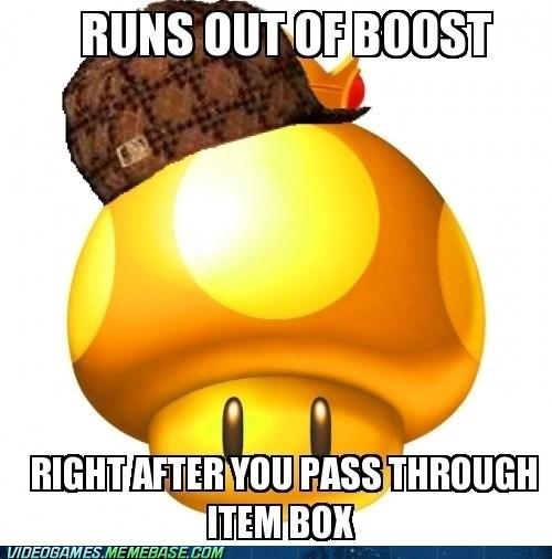 boost item box Mario Kart meme scumbag - 6202577152