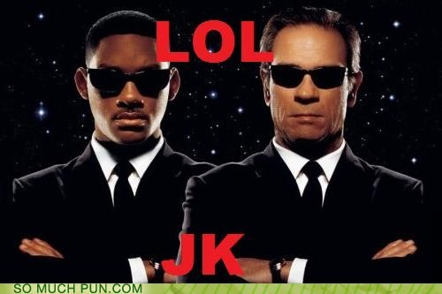 agents code names initials j jk k men in black MIB Movie tommy lee jones will smith - 6202606336