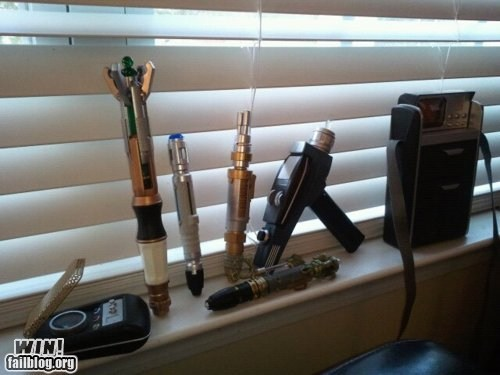 doctor who,nerdgasm,sonic screwdriver,Star Trek,tools