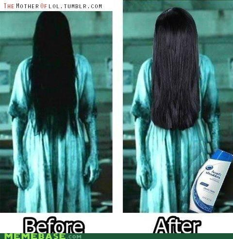 after before head and shoulders Memes the ring - 6202615040
