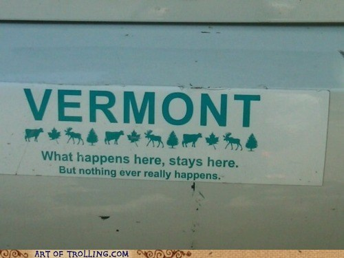 best of week bumper sticker IRL vegas vermont - 6202619904