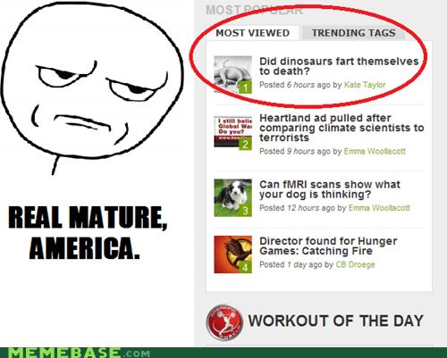 america dinosaurs fart mature Memes news - 6202620160