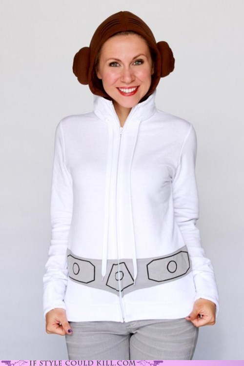 cool accessories hoodies Princess Leia star wars - 6202657792