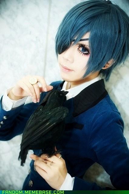anime black butler Ciel Phantomhive cosplay Kuroshitsuji manga - 6202759936