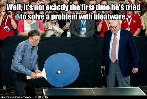 Bill Gates microsoft ping pong political pictures - 6202787072