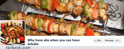 Abs or Kebabs?
