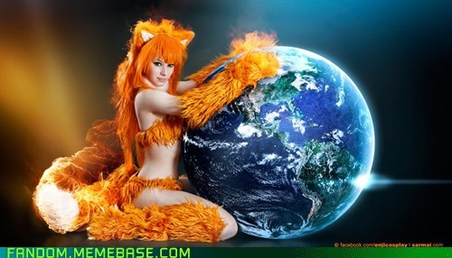 cosplay firefox fox furry internet