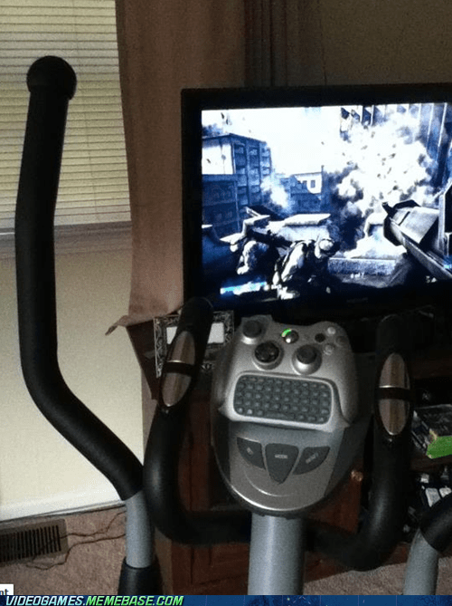 chatpad IRL simultaneous TV workout xbox - 6202869760