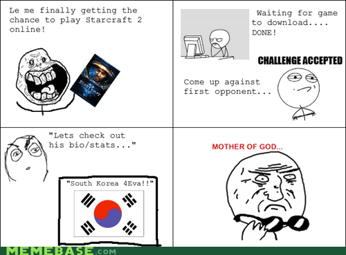 Challenge Accepted,mother of god,Rage Comics,starcraft