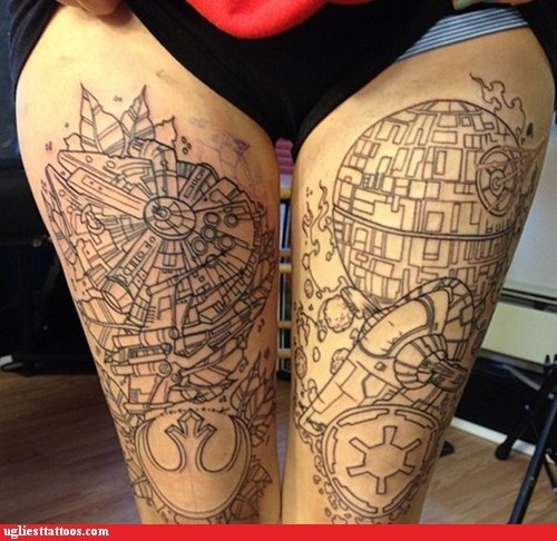 Death Star star wars thighs - 6203066880