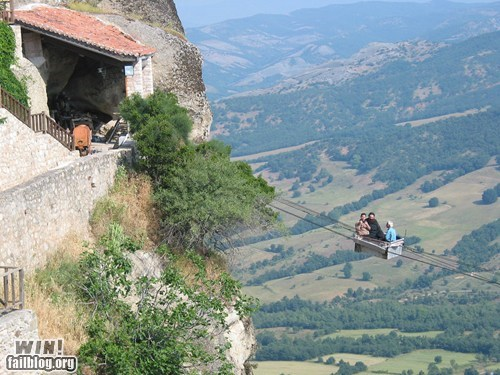 dont-look-down greece monastery Travel vertigo wincation - 6203249920