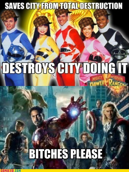 From the Movies power rangers scumbag The Avengers - 6203367680