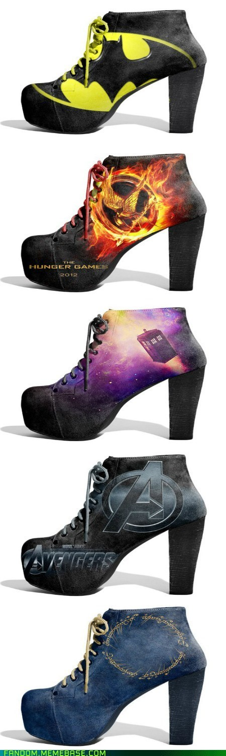 batman best of week comics doctor who Fan Art fashion Lord of the Rings movies scifi shoes The Avengers hunger games - 6203454720