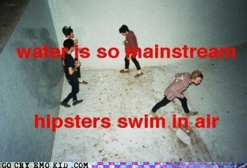 air hipster hipsterlulz mainstream Party pool swimming - 6203585536
