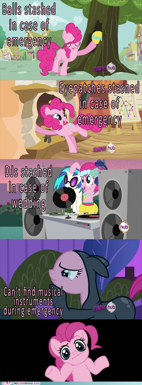 comic emergency stashes musical pinkie pie - 6203635200