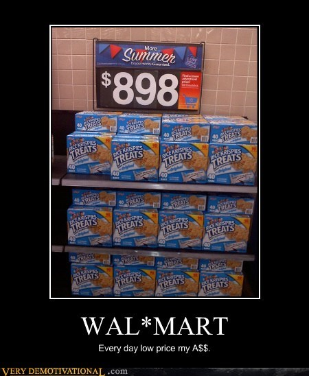 hilarious,lies,low prices,wal mart
