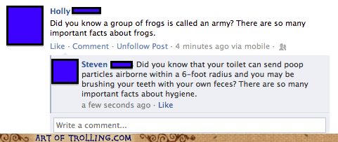 facebook facts frogs pooptimes - 6204315648