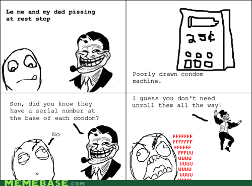 troll dad,condoms