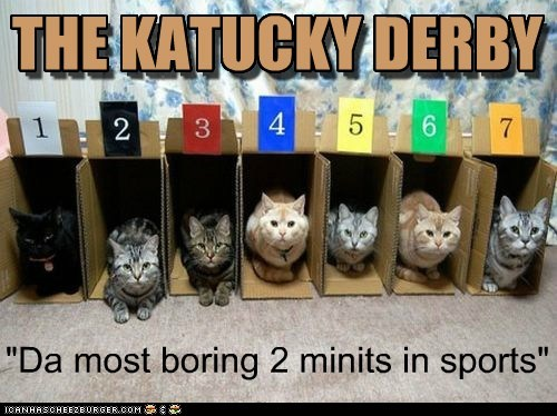 The Katucky Derby: The most boring two minutes in sports!