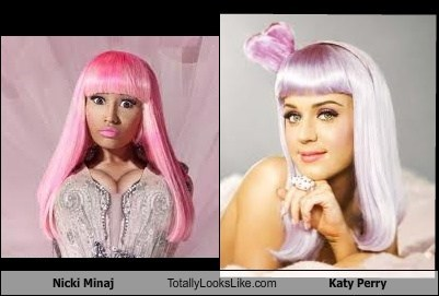 Nicki Minaj Totally Looks Like Katy Perry