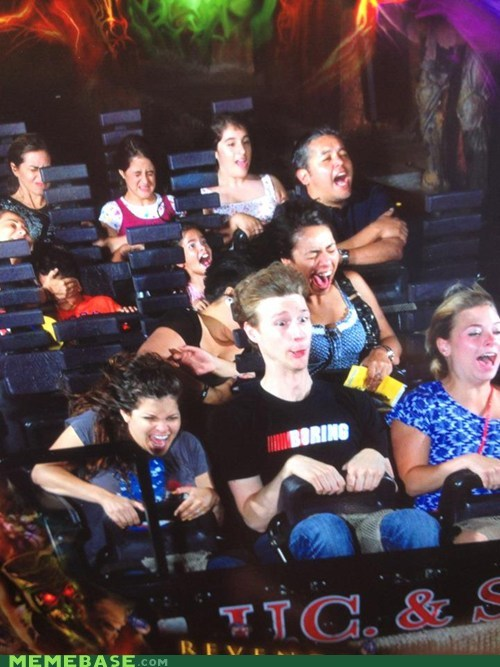 amazing,boring,girl in the middle,Good Times,ride,scary