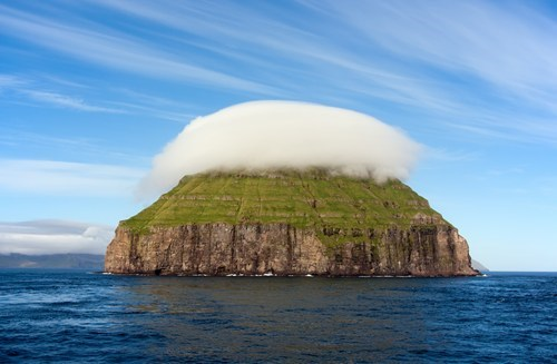 cloud,faroe islands,island,ocean
