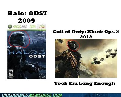 black ops II cod halo the feels u mad - 6205764352
