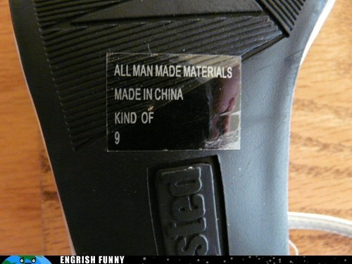 kind of,made in china,man made materials