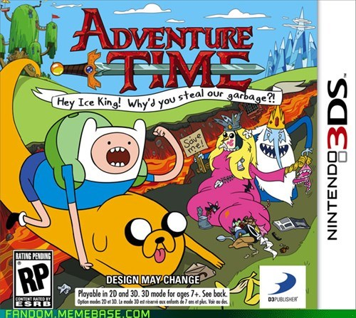 adventure time It Came From the Interwebz news video games - 6205897216