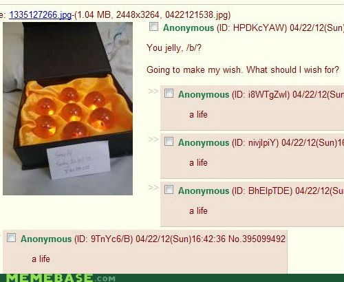 4chan,dragonball,finally,life,wish