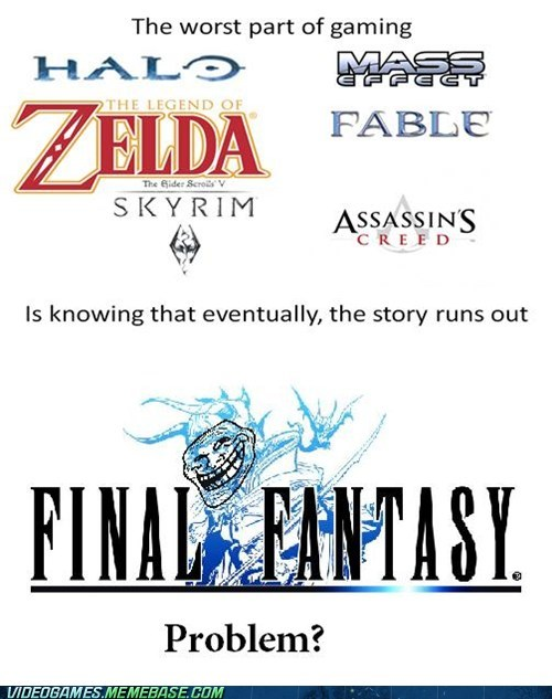 final fantasy jrpg lol nope meme story troll - 6205933056