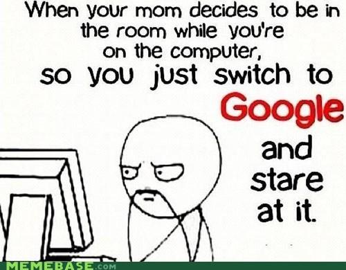 computer google mom parents Rage Comics room - 6205960960