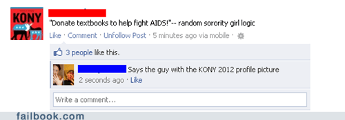 activism awareness faptivism Kony kony 2012 - 6206020096