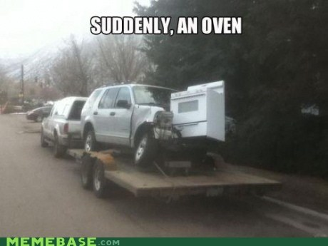 accident,car,crash,Memes,oven
