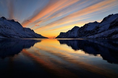 fjord lake Norway sunset - 6206147072