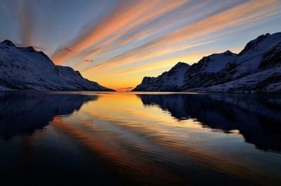 fjord lake Norway sunset - 6206147072