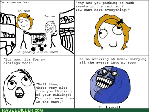 candy i lied parenting Rage Comics - 6206169088