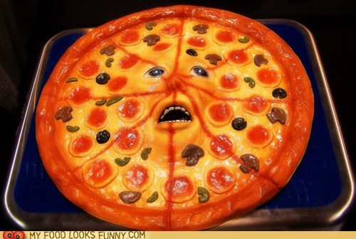 face pizza plastic scared - 6206261760