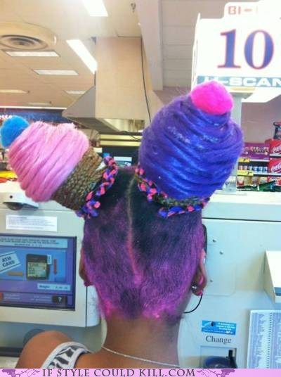 cool accessories cupcakes hair - 6206316288