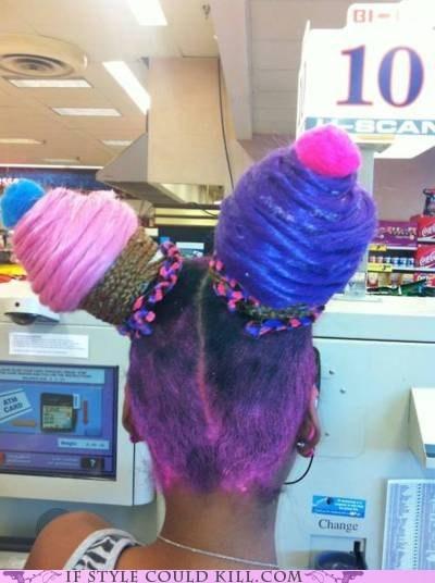 cool accessories cupcakes hair - 6206316288