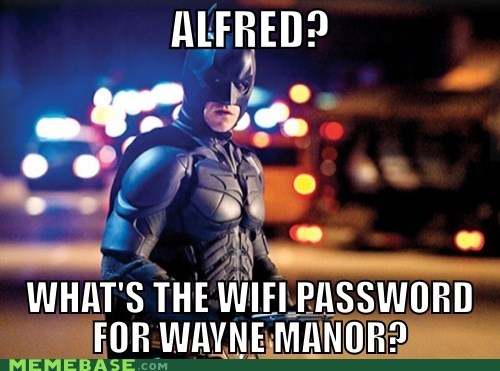 Batman & His iPad