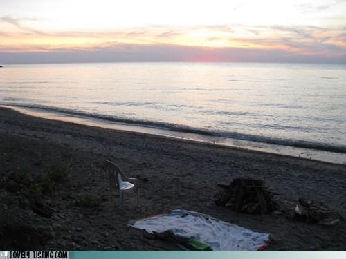 beach chair chairturday sunset - 6206613248