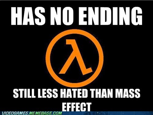 endings half life mass effect the feels valve