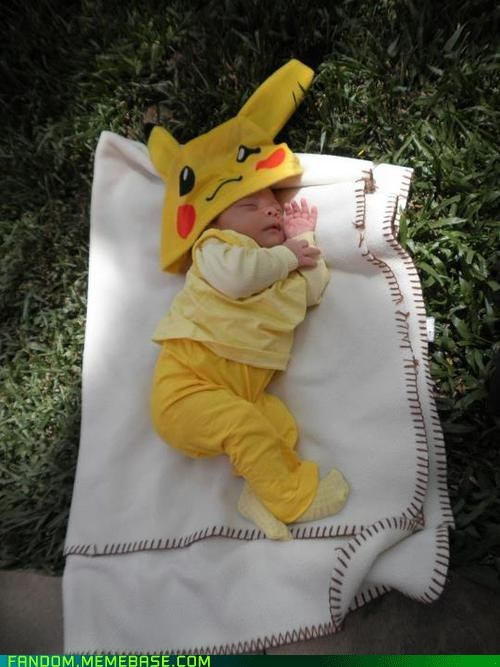 baby cosplay cute kids pikachu Pokémon - 6206664448