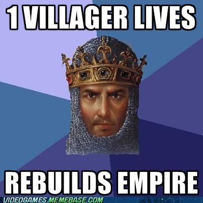 age of empires empire meme rebuild villagers - 6206680064