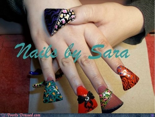nail art nails salon shovel - 6206682624