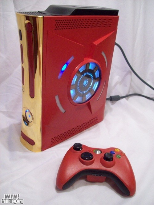 avengers,case mod,g rated,iron man,modification,win,xbox
