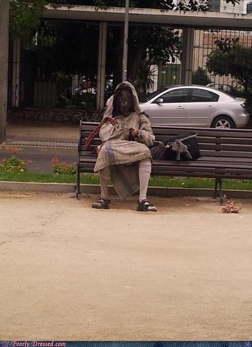 costume creepy Death grim reaper park weird - 6206687232